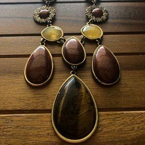 Multi Stone Lucky Brand Necklace
